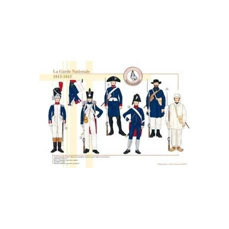 La Garde Nationale (3), 1813-1815