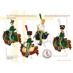 Le 5ème Régiment de Chasseurs à cheval du Duché de Varsovie, 1810-1814