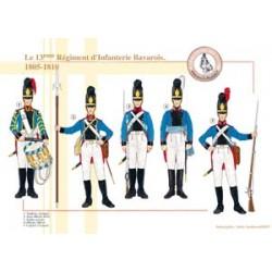 Le 13ème Régiment d'Infanterie Bavarois, 1805-1810