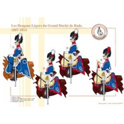 The Light Dragons of the Grand Duchy of Baden, 1807-1814