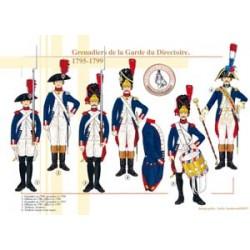 Grenadiere der Garde des Verzeichnisses, 1795-1799