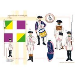 Das Regiment von Agenois in Amerika, 1781