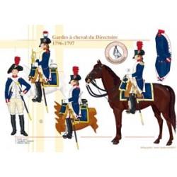 Gardes à cheval du Directoire, 1796-1797