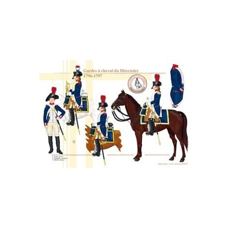 Horse Guards of the Directory, 1796-1797