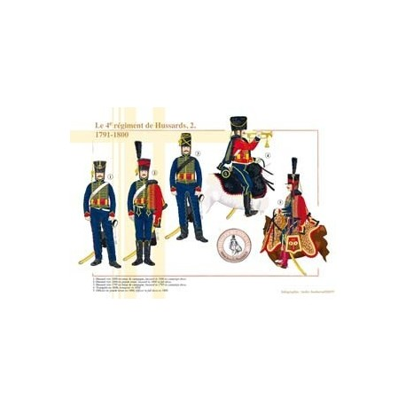 The 4th Hussars Regiment (2), 1791-1800