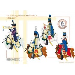 Le 5e régiment de Hussards (2), 1791-1803