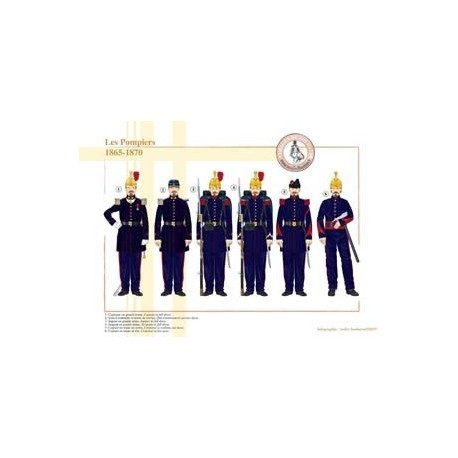 Les Pompiers, 1865-1870