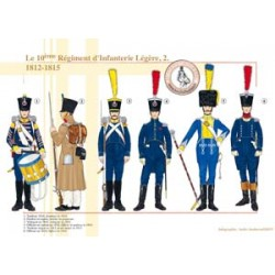 The 10th Light Infantry Regiment (2), 1812-1815
