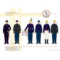 Die französischen Feuerwehrleute (2), 1908-1914
