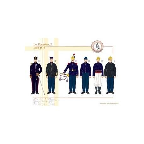 Les Pompiers (2), 1908-1914