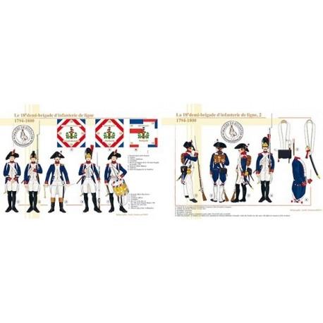La 18e demi-brigade d'infanterie de ligne, 1794-1800