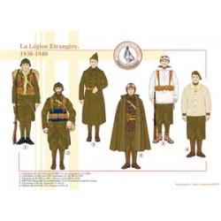 Die französische Fremdenlegion, 1938-1940