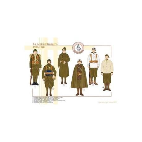 La Légion Etrangère, 1938-1940