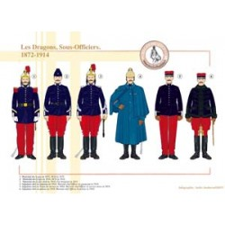 Les Dragons, Sous-Officiers, 1872-1914
