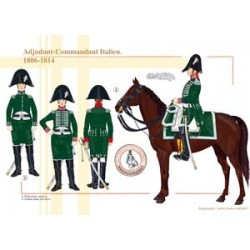 Adjudant-Commandant Italien, 1806-1814