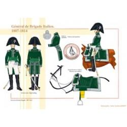 General der italienischen Brigade, 1807-1814