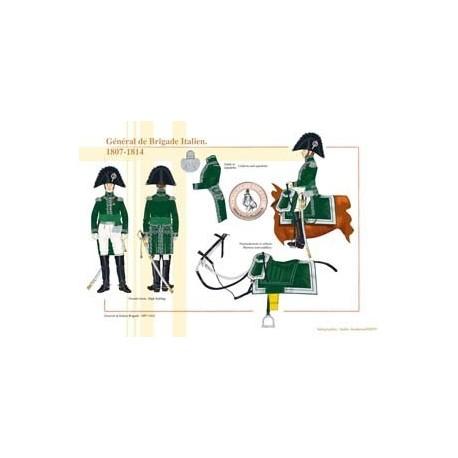 Général de Brigade Italien, 1807-1814