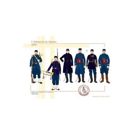 L'Infanterie de Marine, 1870