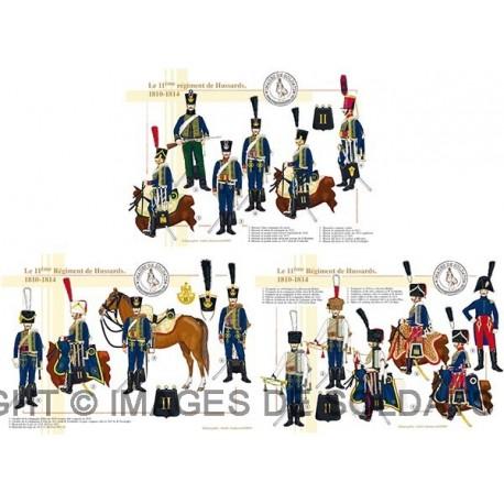 Le 11ème Régiment de Hussards, 1810-1814