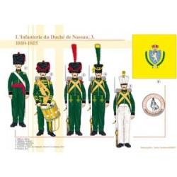 L'Infanterie du Duché de Nassau (3), 1810-1815