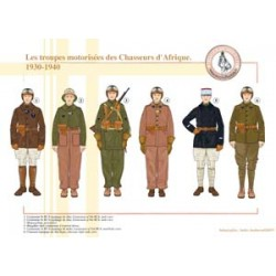 The motorized troops of the Chasseurs d'Afrique, 1930-1940