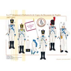 The 1st Line Infantry Regiment of the Kingdom of Naples, 1807-1811