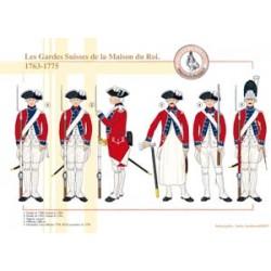 Die Schweizer Garde des Königshauses, 1763-1775