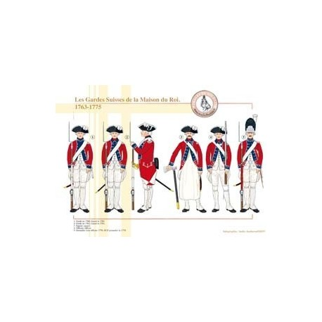 The Swiss Guards of the King's House, 1763-1775