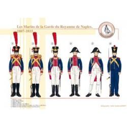 I marines della guardia del Regno di Napoli, 1807-1815
