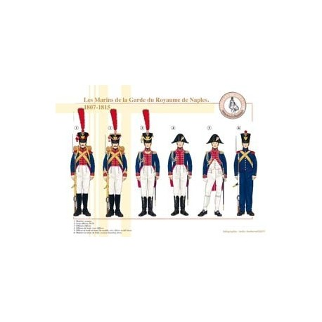Les Marins de la Garde du Royaume de Naples, 1807-1815