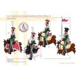 Die Lanciers des Großherzogtums Cleves-Berg (3), 1812-1813