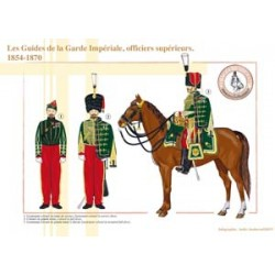 The Imperial Guard Guides, Senior Officers, 1854-1870