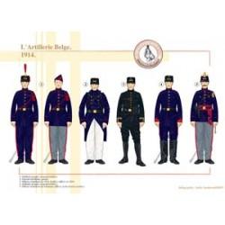 Die belgische Artillerie, 1914