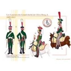 Les Lanciers du Grand duché de Clève-Berg (4), 1809-1813