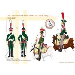 The Lancers of the Grand Duchy of Cleves-Berg (4), 1809-1813