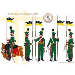 Der österreichisch-ungarische Ulan, 1805