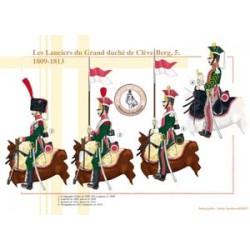 Die Lanciers des Großherzogtums Cleves-Berg (5), 1809-1813