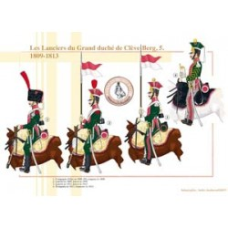 Les Lanciers du Grand duché de Clève-Berg (5), 1809-1813
