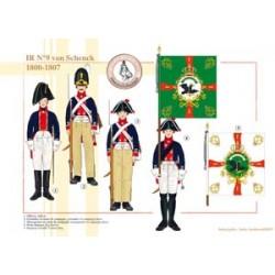 IR N°9 von Schenck, 1800-1807