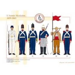 Die mexikanische Armee, 1859-1863