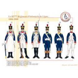 Das 85. Linieninfanterieregiment, 1806-1808
