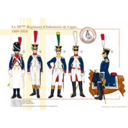 The 30th Line Infantry Regiment, 1809-1810