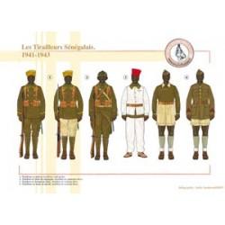 Die senegalesischen Tirailleure, 1941-1943