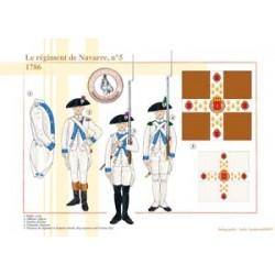 Le régiment de Navarre n°5, 1786