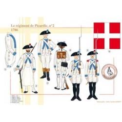 Das Regiment der Picardie Nr. 2, 1786