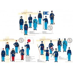 L'Infanterie de l'Union, 1861-1865