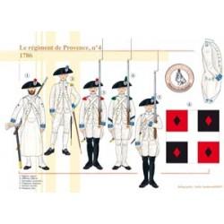 Le régiment de Provence n°4, 1786