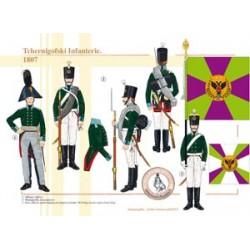 Tchernigofski Infanterie, 1807