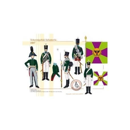 Chernigofski Infantry, 1807