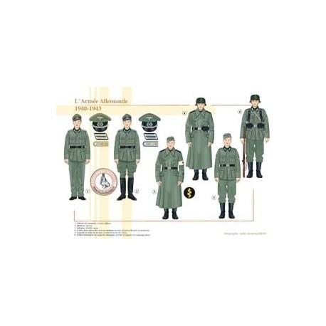 L'Armée Allemande, 1940-1943